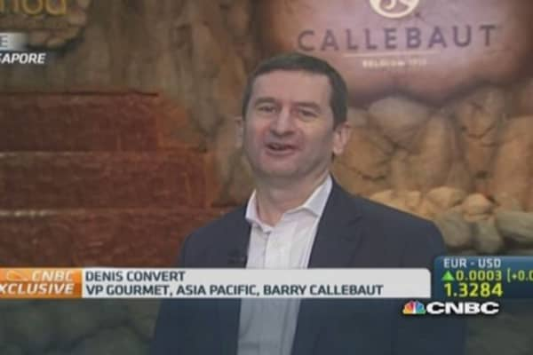 Chocolatier Barry Callebaut takes aim at Asia