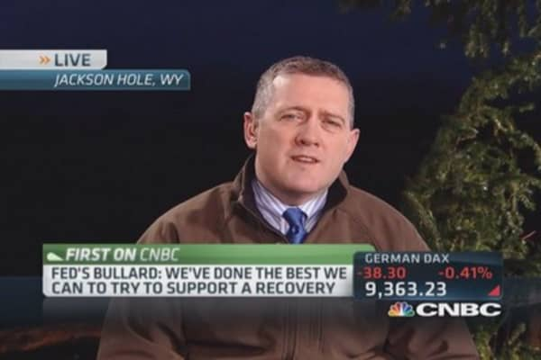 It's been a tough five years: Bullard