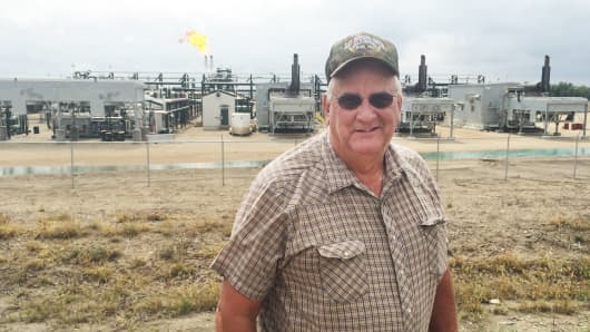 Tom Wheeler is a landowner in Ray, North Dakota, the heart of the state's oil-rich Bakken Basin, one of the world's largest shale formations.