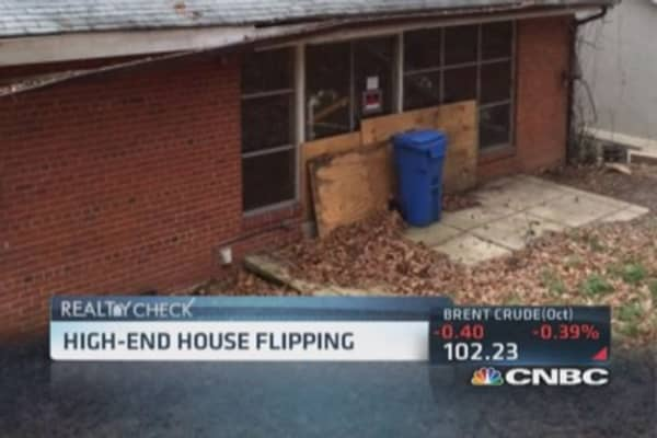 New trend in high-end home flipping