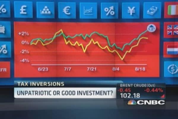 Close look at tax inversion motif