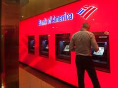 Bank of America ATM banking bank