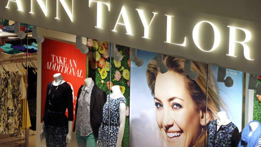 An Ann Taylor store in Mount Lebanon, Pennsylvania