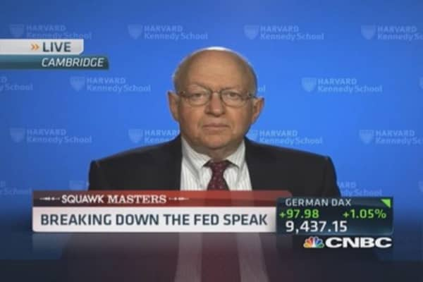 Feldstein's Fed policy warning