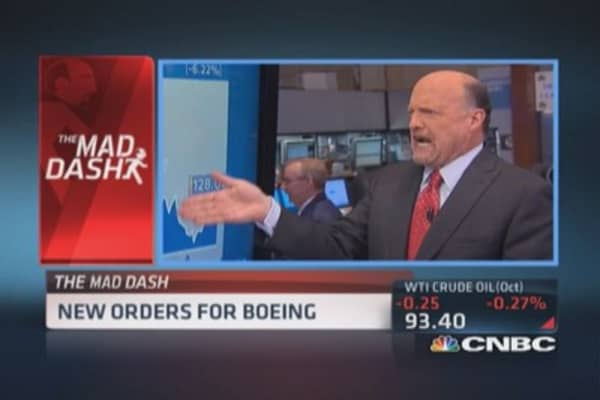 Cramer's Mad Dash: Goldman's new world