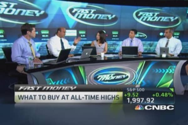 Stocks to buy at all-time highs