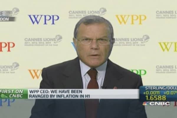 WPP CEO: Russia sanctions will have impact