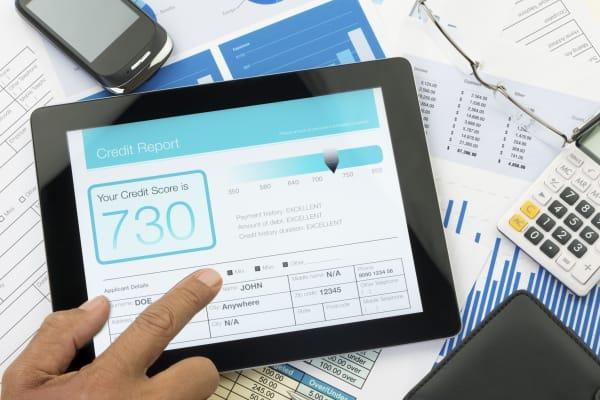 credit report score personal finance