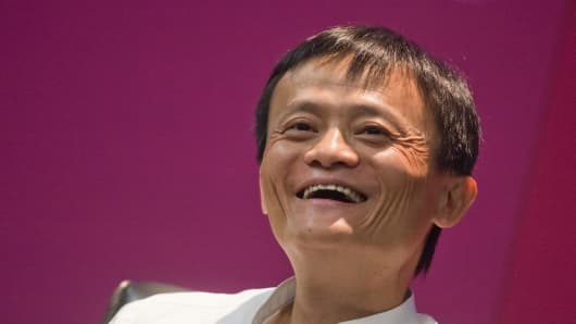 Alibaba Group chairman and CEO Jack Ma Yun.