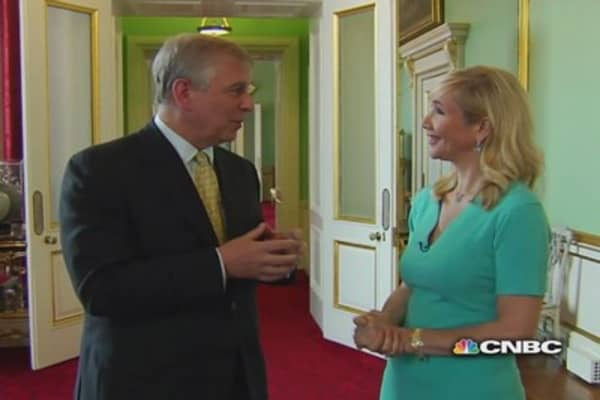 CNBC Meets: The Duke of York, part two