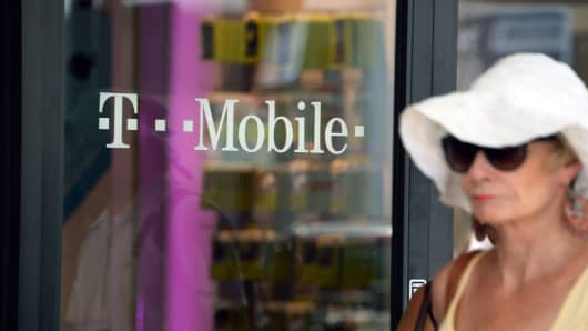 A T-Mobile store in Glendale, California, on August 1, 2014.