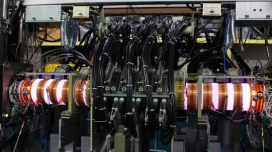 A Helion Energy prototype