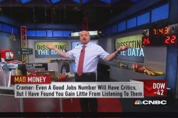 Cramer: Never ignore non-farm payroll data