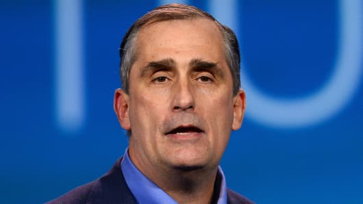 Brian Krzanich, CEO of Intel Corp.