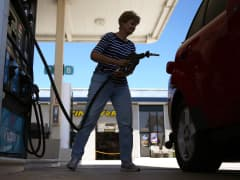 Gas pump gasoline prices
