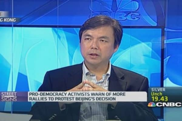 Occupy Central: Hong Kong wants election fair play