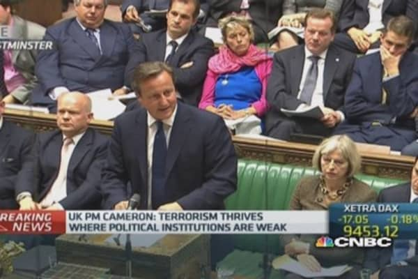 UK PM introduces new terrorism prevention plans