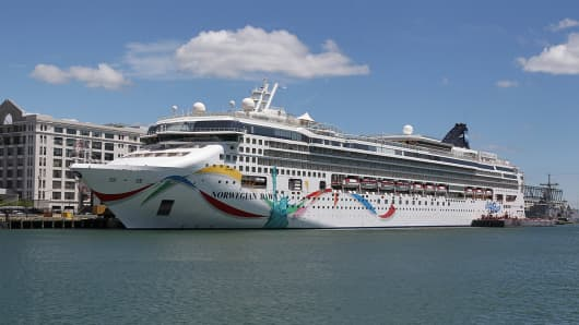 Norwegian Cruise Lines ship Norwegian Dawn.