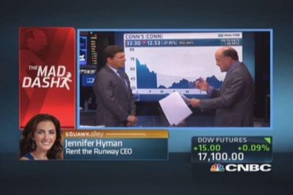 Cramer's Mad Dash: Regeneron rising