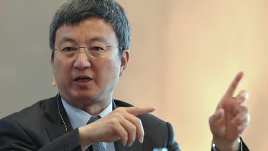 Zhu Min, IMF deputy managing director