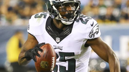Running back LeSean McCoy of the Philadelphia Eagles