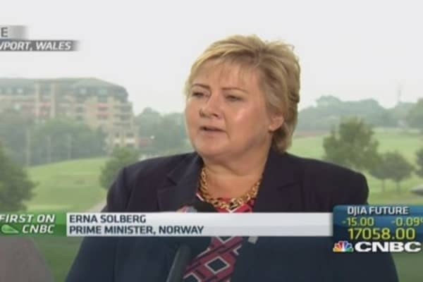 NATO can deter Russia: Norway PM