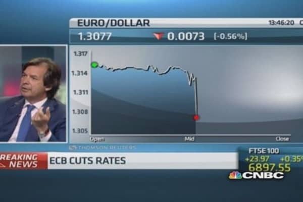 ECB decision good for Italian banks: CEO