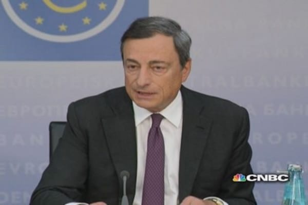 Inflation to start increasing in 2015: Draghi