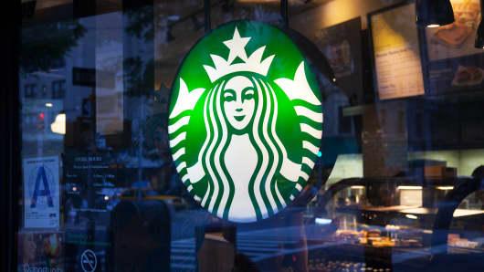 A Starbucks location in New York.