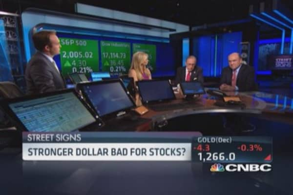 Trading the stronger dollar