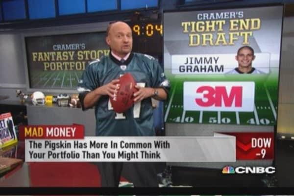 Cramer's fantasy stock TE: MMM