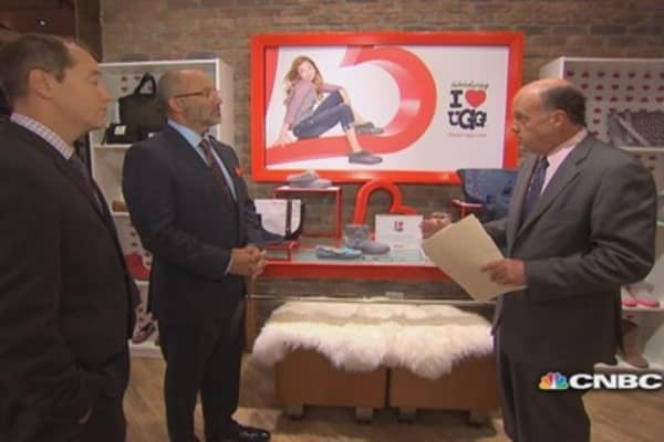 Cramer learns a surprising fact about Uggs