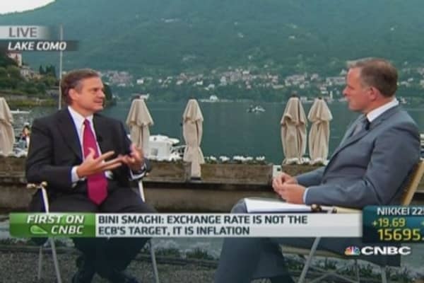 ECB actions alone won't create growth: Bini Smaghi