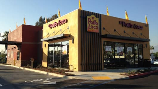 An El Pollo Loco restaurant