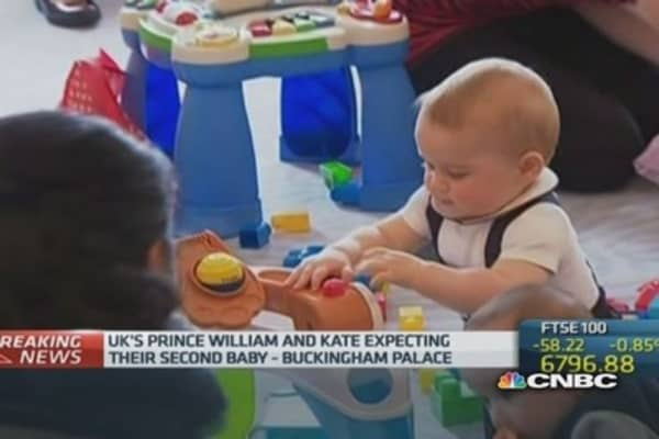 Congrats! William and Kate expecting second child