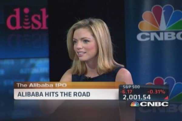 Alibaba on the road ... show