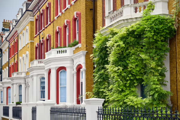 London townhouses, london housing, UK housing, luxury townhouse