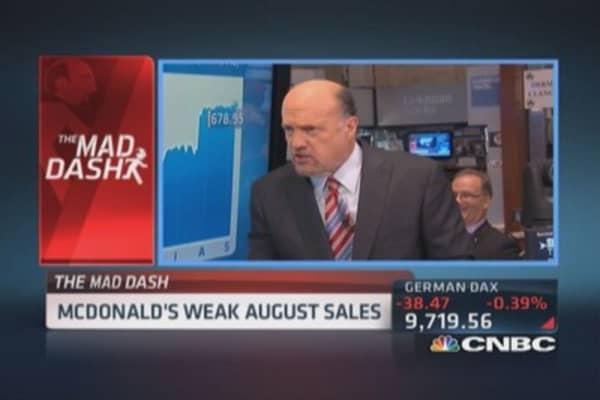 Cramer's Mad Dash: MCD challenges