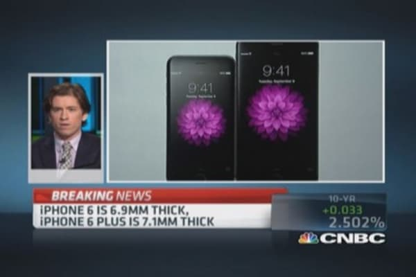 iPhone 6 met expectations: Chafkin