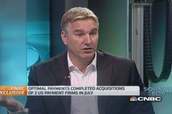 Apple Pay won't disrupt us: Optimal Payments CEO