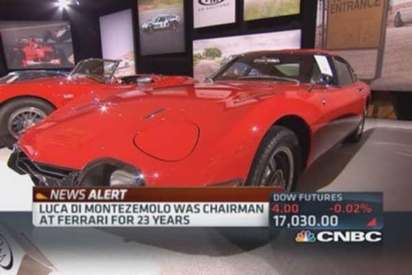 Ferrari chairman to resign