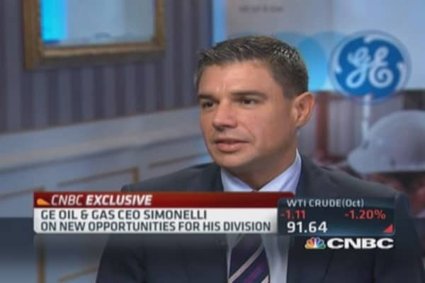 GE's edge in oil & gas
