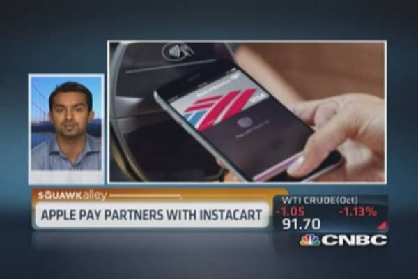 Apple Pay revolutionary for merchants: Instacart CEO