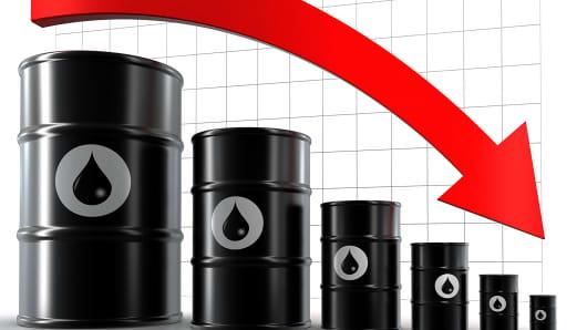 Oil decline