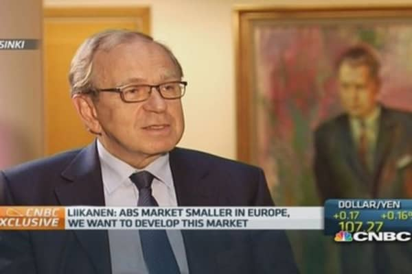ABS need to be 'clearer': Bank of Finland governor
