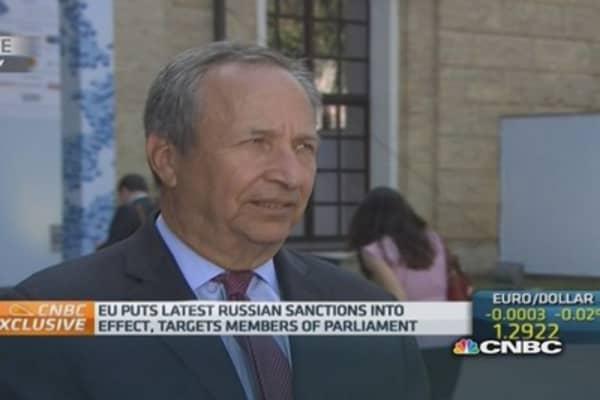 West should focus on Ukraine not Russia: Summers