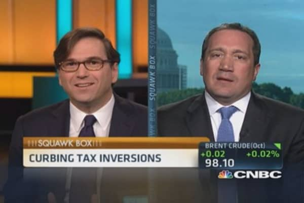 Tackling tax inversions