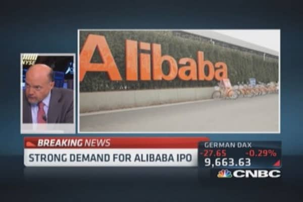 Cramer: Alibaba price Monday, don't wait