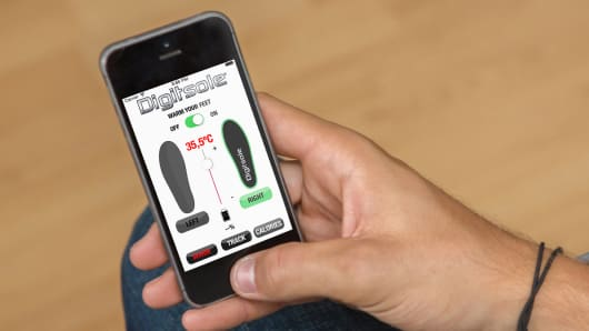 App for Digitsole heated insoles
