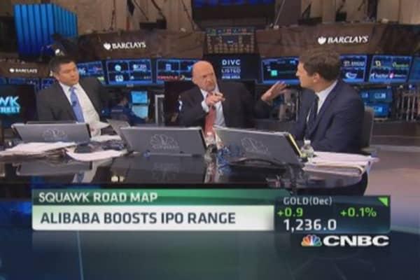 Cramer's Alibaba sell theory